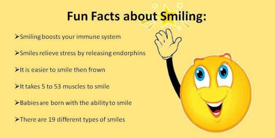 facts of smiling