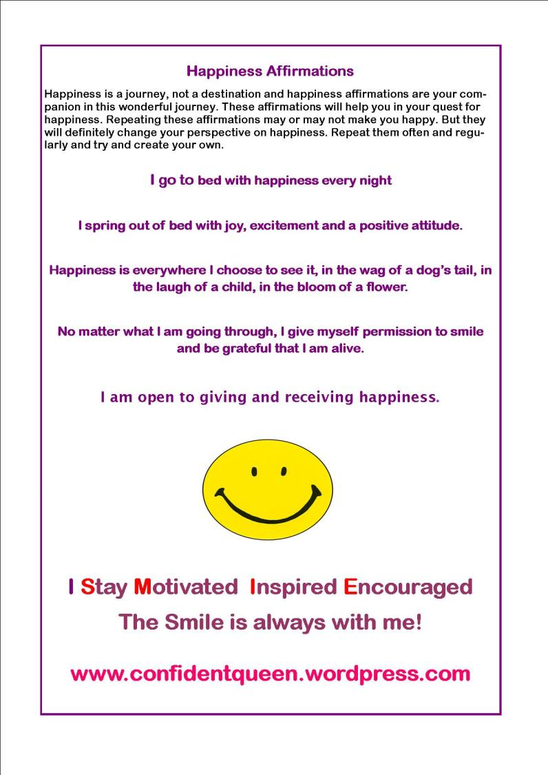 happiness affirmations2