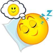 Resultado de imagem para smile dormindo