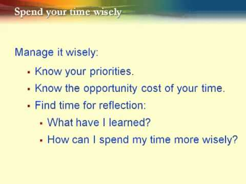 spendyourtimewisely